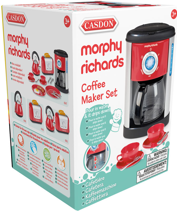 Wholesalers of Casdon Morphy Richards Coffee Maker toys