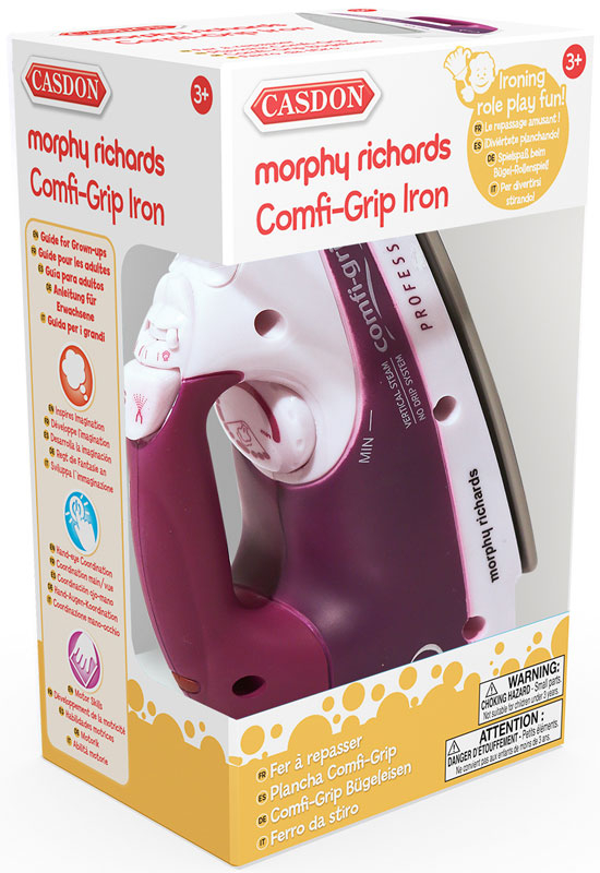 Wholesalers of Casdon Morphy Richards Comfi-grip Iron toys