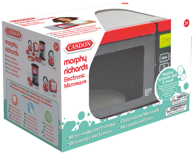 Wholesalers of Casdon Morphy Richards Microwave toys