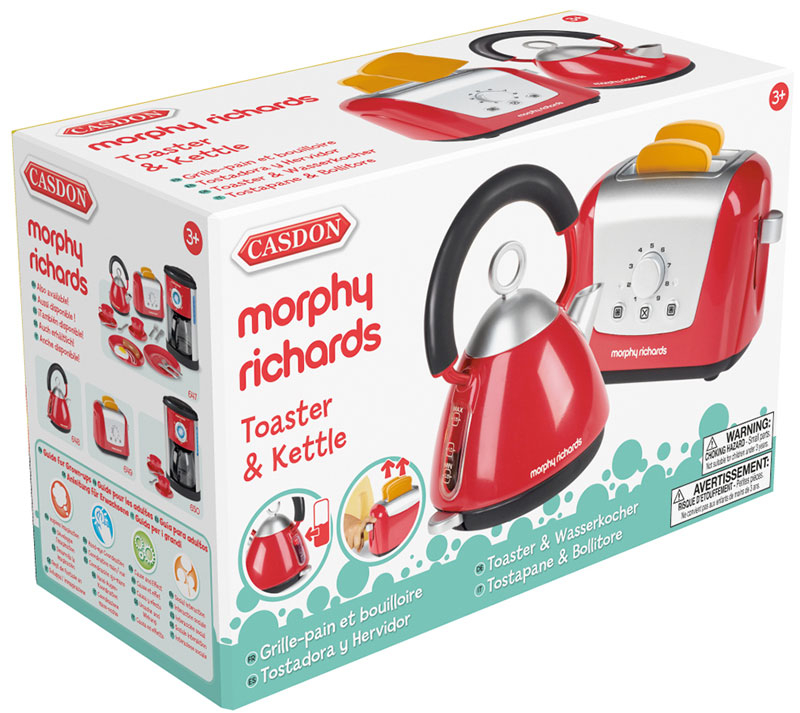 Wholesalers of Casdon Morphy Richards Toaster & Kettle toys