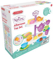 Wholesalers of Casdon Mr Kipling Cake Stand With Tea Set toys image