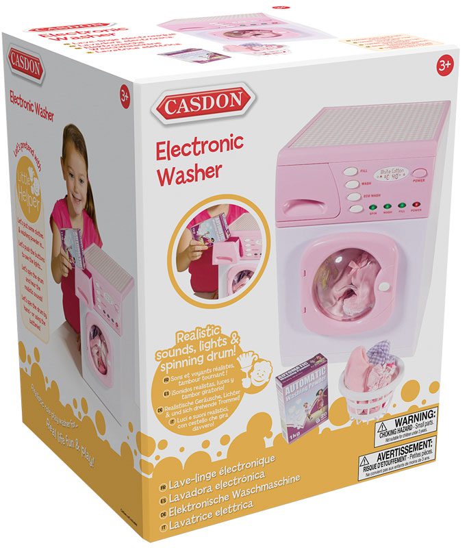 Wholesalers of Casdon Pink Washer toys
