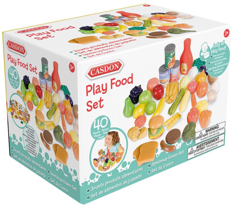 Wholesalers of Casdon Play Food Set toys