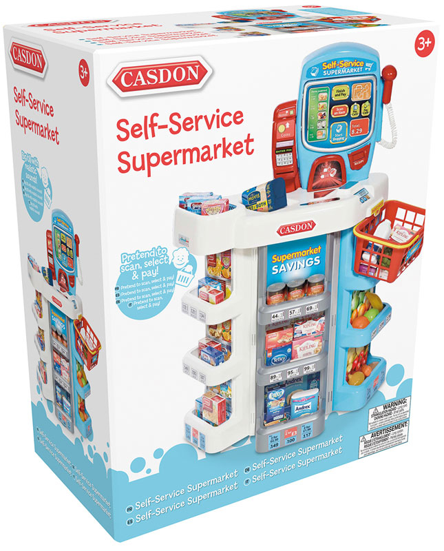 Wholesalers of Casdon Self-service Supermarket toys