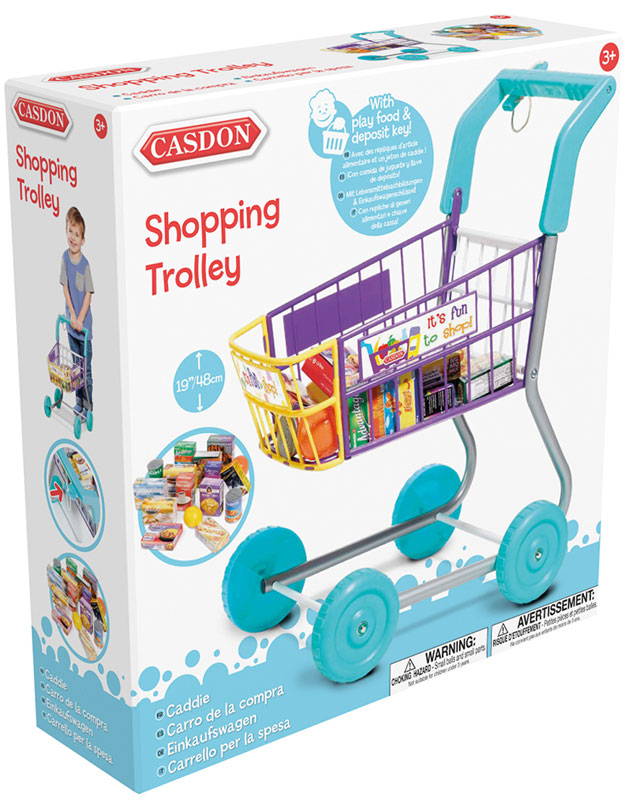 Wholesalers of Casdon Shopping Trolley toys