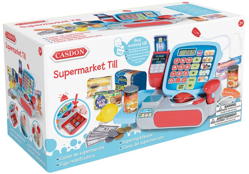 Wholesalers of Casdon Supermarket Till toys