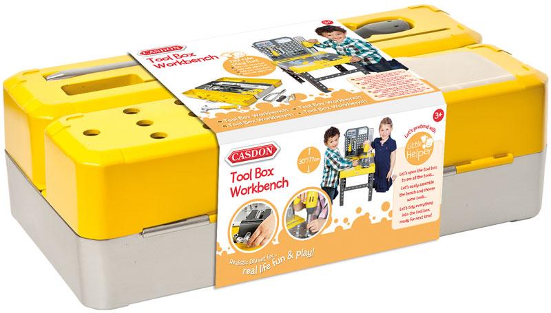 Wholesalers of Casdon Tool Box Workbench toys