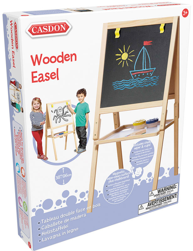 Wholesalers of Casdon Wooden Easel toys