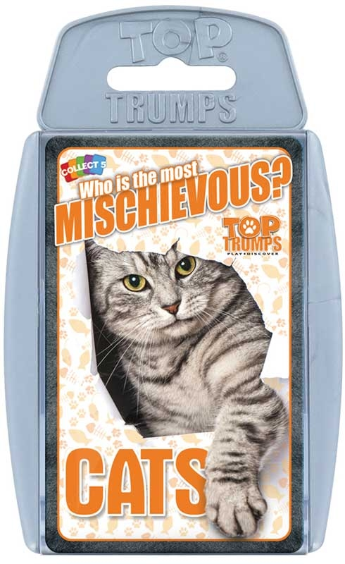 Wholesalers of Top Trumps - Cats toys