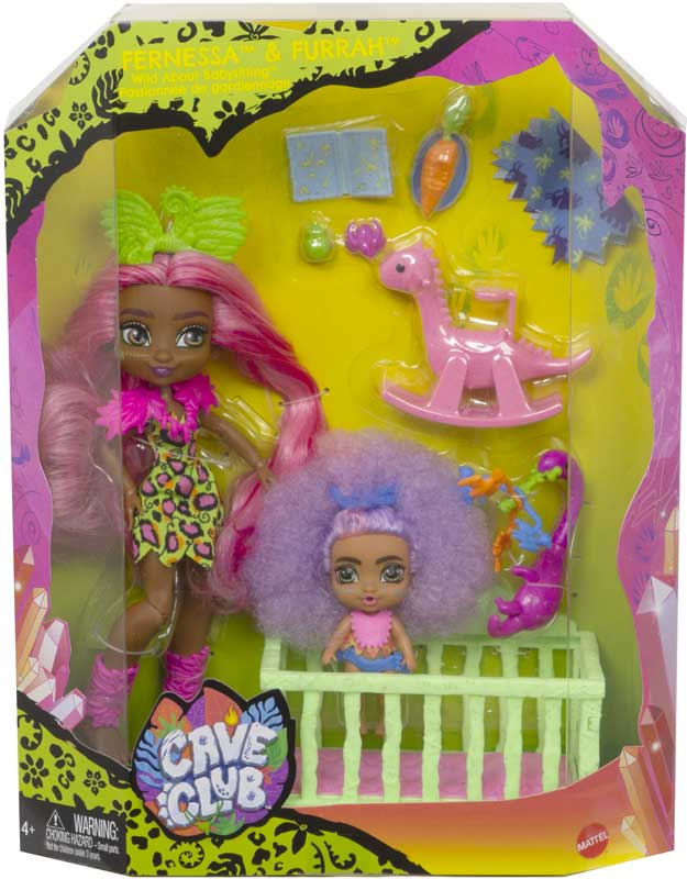 Wholesalers of Cave Club Babysitting Play Set toys
