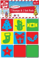 Wholesalers of Christmas Stamps And 2 Ink Pads toys image