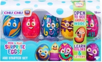 Wholesalers of Chu Chu Tv Peek & Play Surprise Eggs - Abc Starter Set toys image