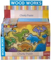 Wholesalers of Chunky Puzzle Dino And Vehicles toys image 2