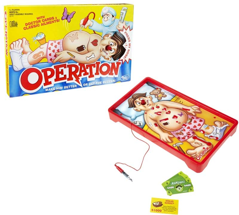 Wholesalers of Classic Operation toys