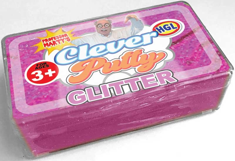 Wholesalers of Clever Putty Glitter toys