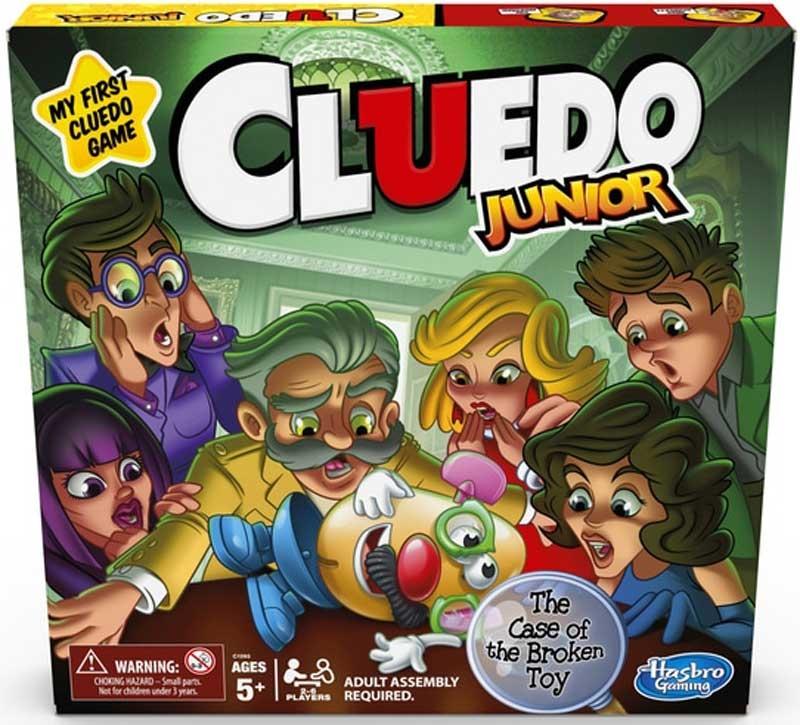Wholesalers of Cluedo Junior Asst toys
