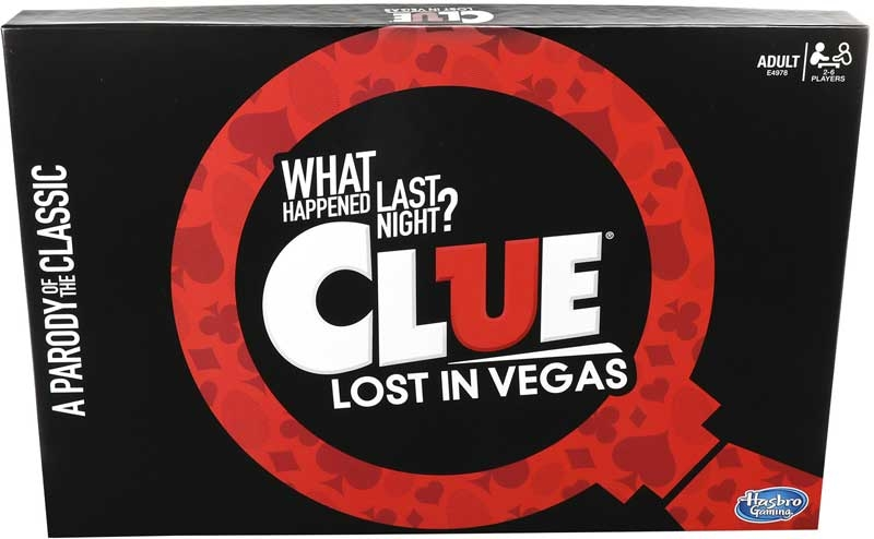 Wholesalers of Cluedo Lost In Vegas toys