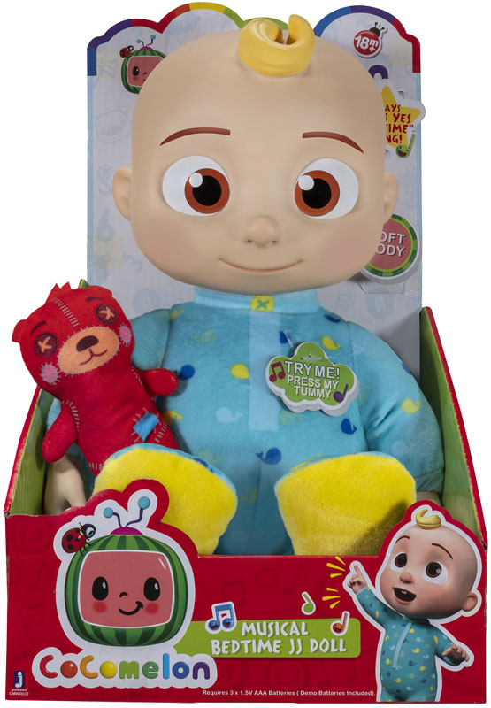 Wholesalers of Cocomelon 10inch Bedtime Jj Doll toys