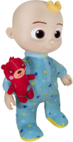 Wholesalers of Cocomelon 10inch Bedtime Jj Doll toys image 3