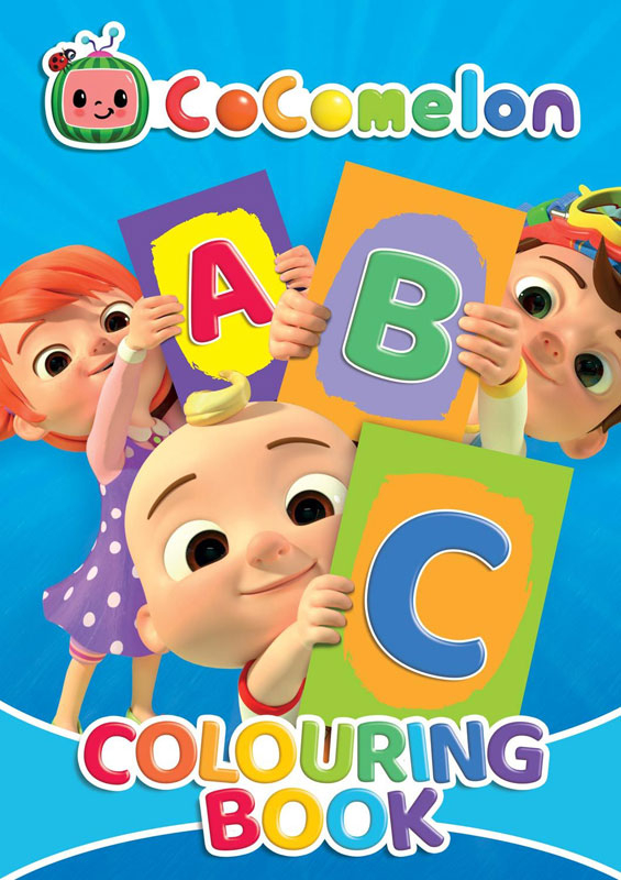 Wholesalers of Cocomelon Abc Colouring Book toys