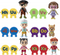 Wholesalers of Cocomelon Alphabet Figure Packs toys image 3