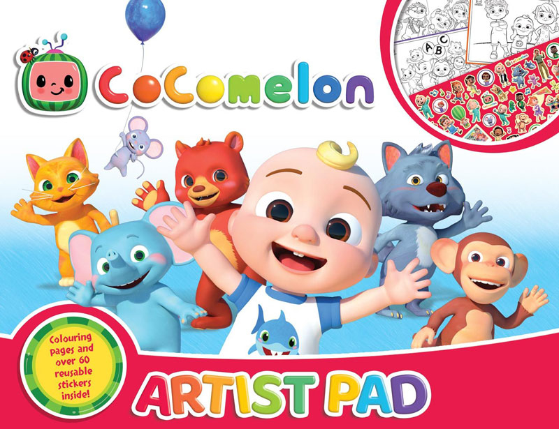 Wholesalers of Cocomelon Artist Pad toys
