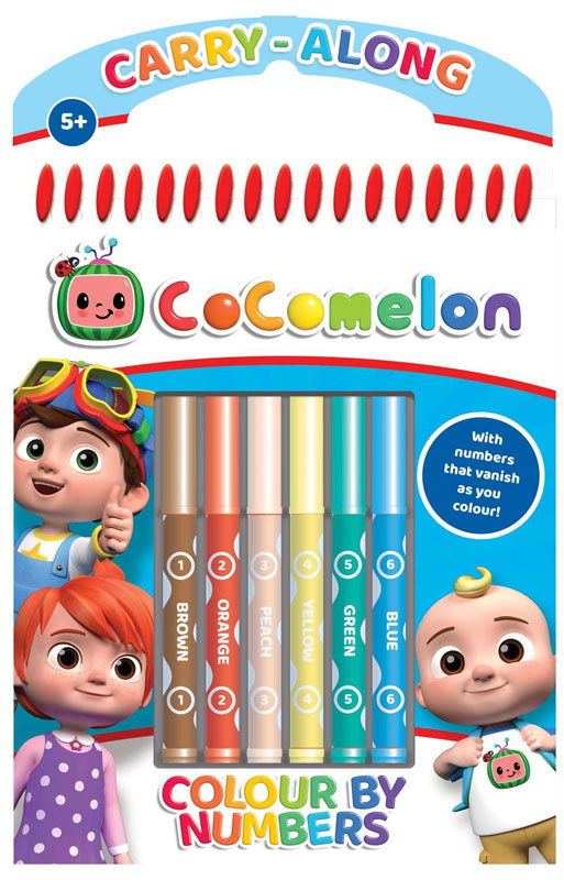 Wholesalers of Cocomelon Colour By Numbers toys