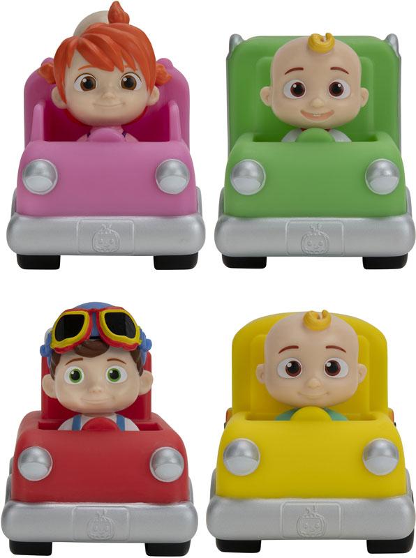 Wholesalers of Cocomelon Colour Vehicle Assortment toys