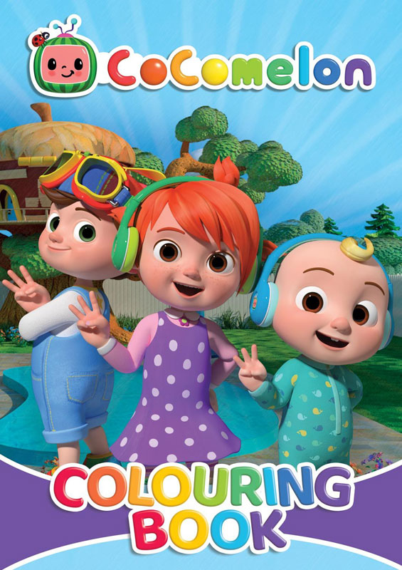Wholesalers of Cocomelon Colouring Book toys