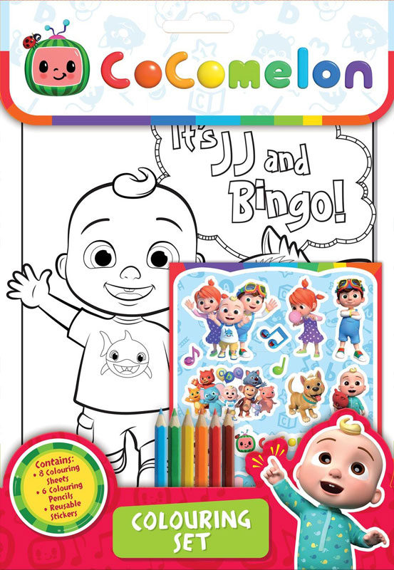 Wholesalers of Cocomelon Colouring Set toys