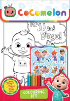 Wholesalers of Cocomelon Colouring Set toys image
