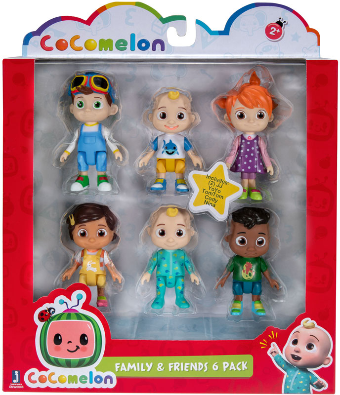 Wholesalers of Cocomelon Figure 6 Pack toys