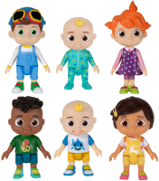 Wholesalers of Cocomelon Figure 6 Pack toys image 2