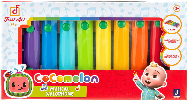 Wholesalers of Cocomelon First Act Intrument Xylophone toys