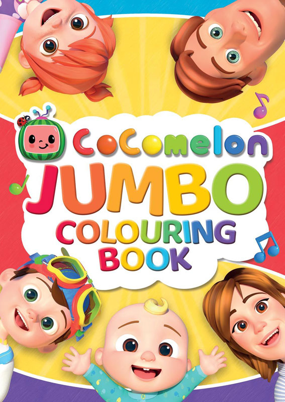 Wholesalers of Cocomelon Jumbo Colouring Book toys