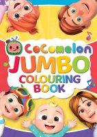 Wholesalers of Cocomelon Jumbo Colouring Book toys image