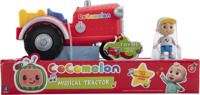 Wholesalers of Cocomelon Musical Tractor toys