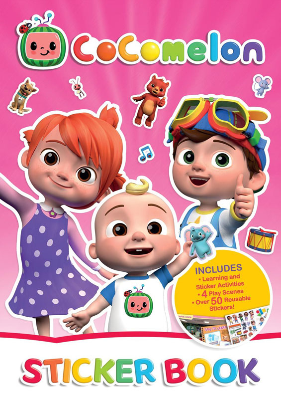 Wholesalers of Cocomelon Sticker Book toys