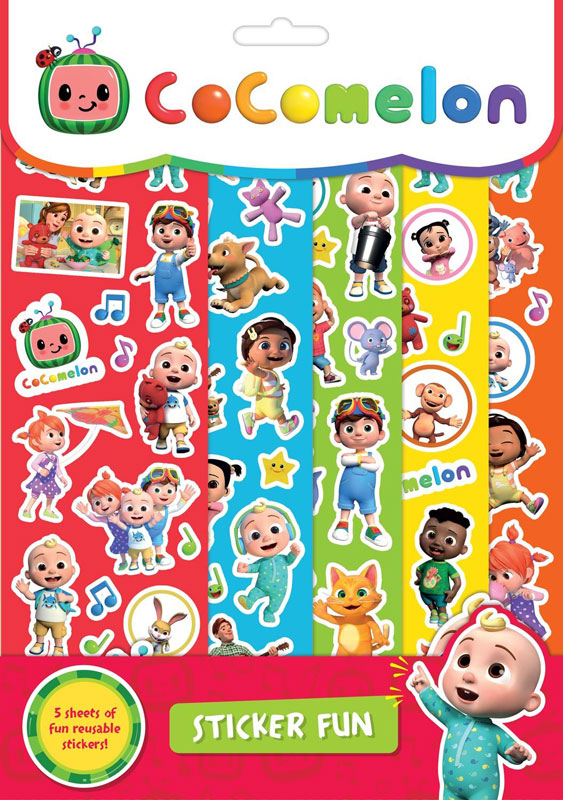 Wholesalers of Cocomelon Sticker Fun toys