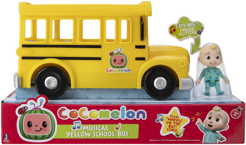 Wholesalers of Cocomelon Yellow School Bus toys