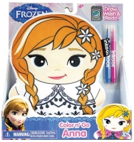 Wholesalers of Colour N Create Frozen Anna toys image