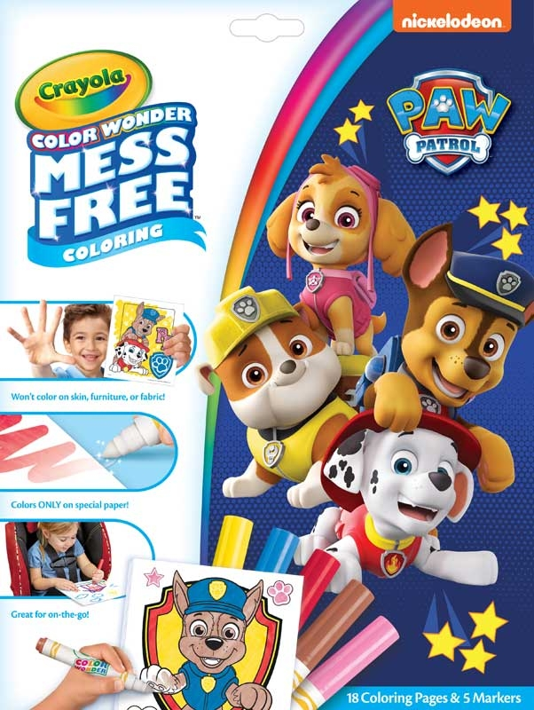 Wholesalers of Colour Wonder Paw Patrol toys