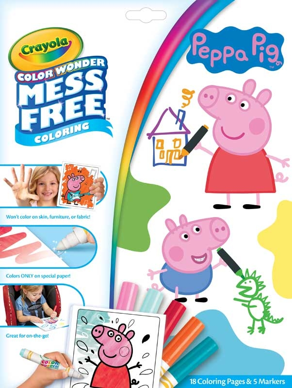 Wholesalers of Colour Wonder Peppa Pig toys