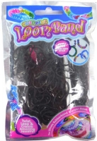 Wholesalers of Colourful Loom Bands - Black Night toys image