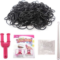 Wholesalers of Colourful Loom Bands - Black Night toys image 2
