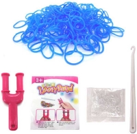 Wholesalers of Colourful Loom Bands - Blue Freeze toys image 2