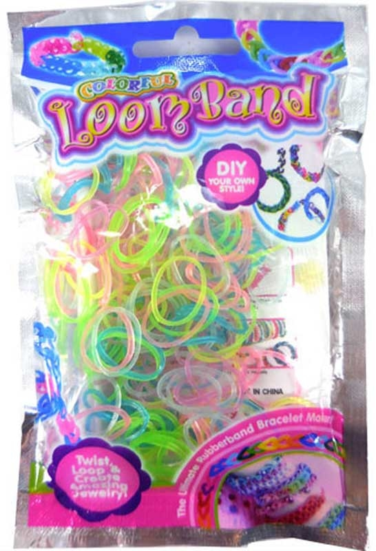 Wholesalers of Colourful Loom Bands - Glow In The Dark toys