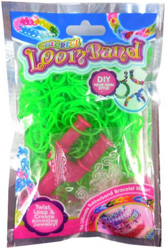 Wholesalers of Colourful Loom Bands - Green Goblin toys
