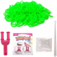 Wholesalers of Colourful Loom Bands - Green Goblin toys image 2