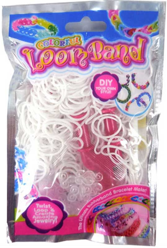 Wholesalers of Colourful Loom Bands - Polar White toys